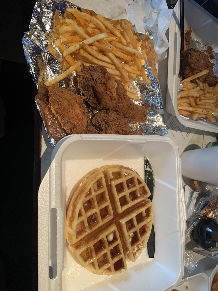 Kings Fried Chicken & Waffles: 1170 E Highland Ave, San Bernardino, CA