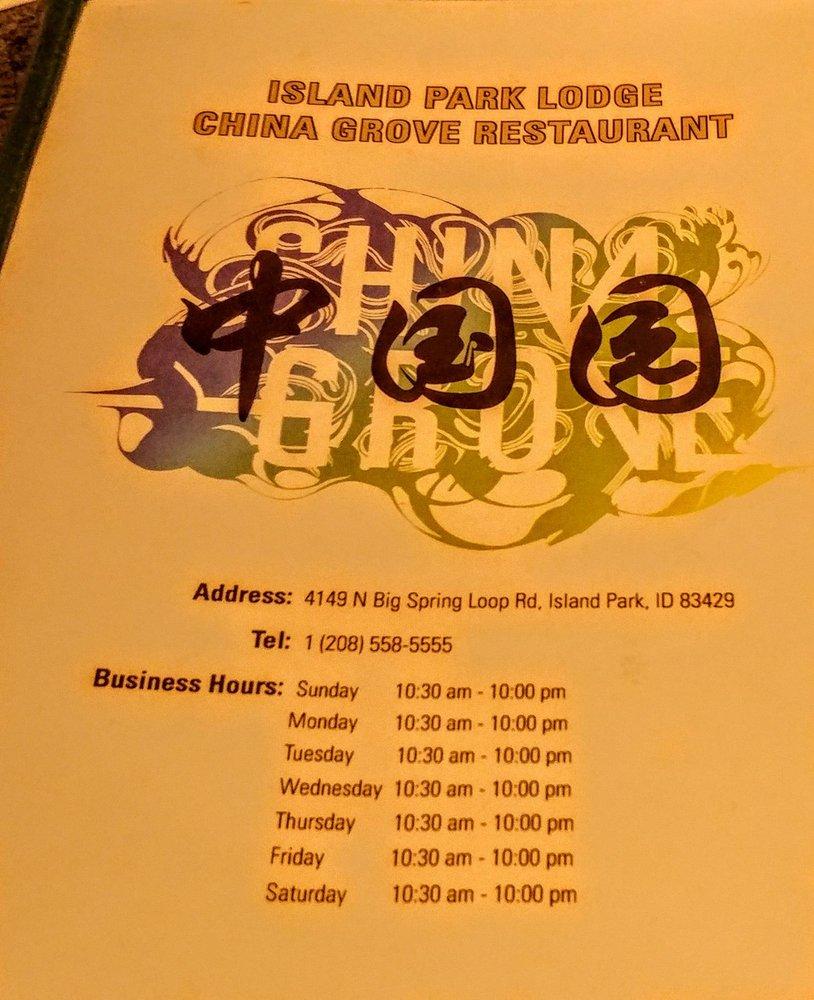 Island Park Lodge China Grove Restaurant - 34 Photos & 44