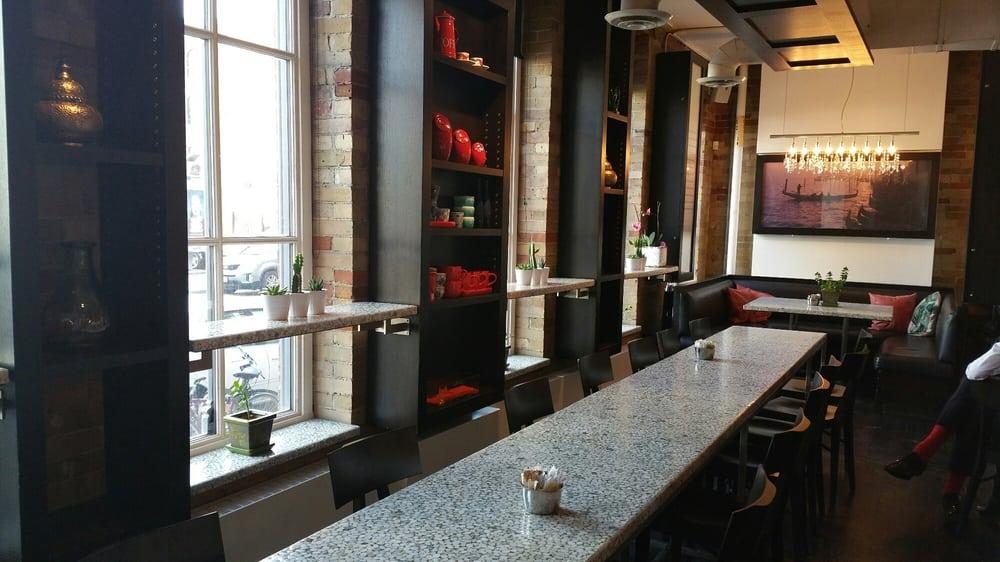 Photo Of B Espresso Bar Toronto On Canada Interior