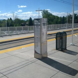 RTD Yale Light Rail Station - Train Stations - 5315 E Yale