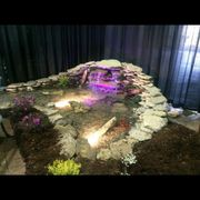 Genial Waiting For Dust To Photo Of Two Fish   Louisville, KY, United States. Home  And Garden Show ...