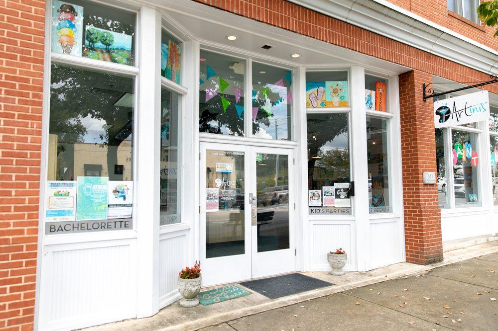 ARTini's Art Lounge: 337 Prince Ave, Athens, GA
