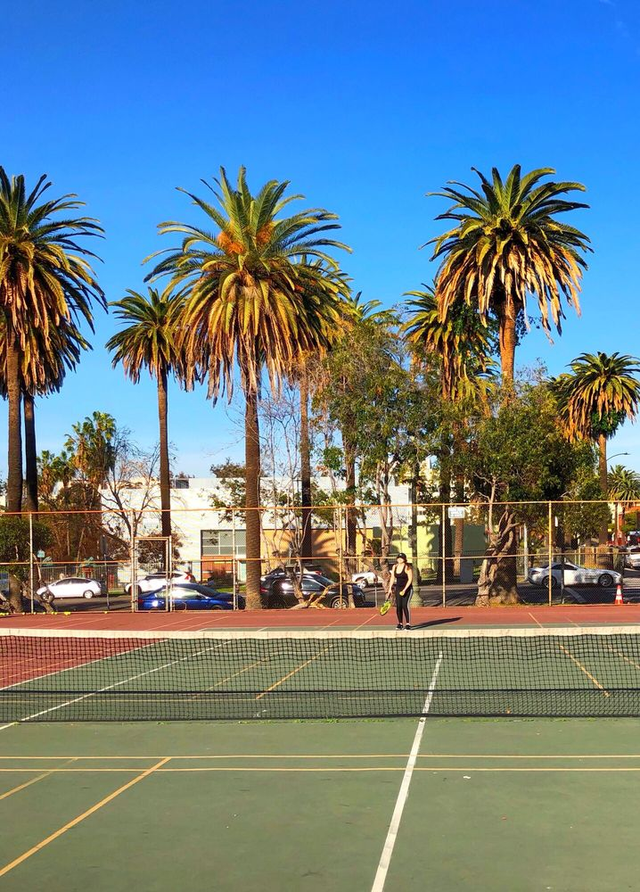 Echo Park Tennis Courts
