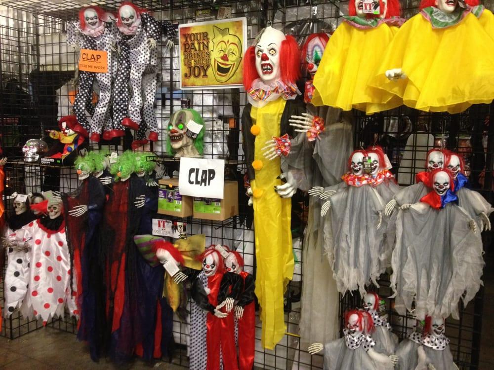 Creepy Clown Halloween Decorations.Scary Clown Decorations Yelp