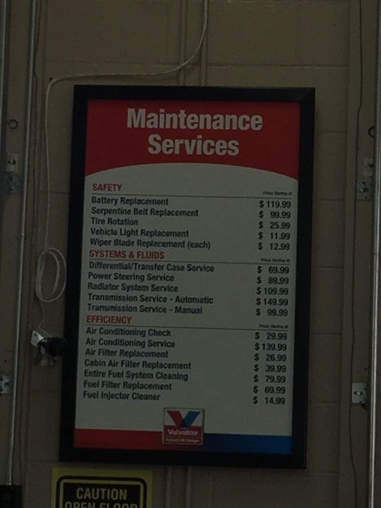 Maintenance Price Including Tire Rotation Yelp