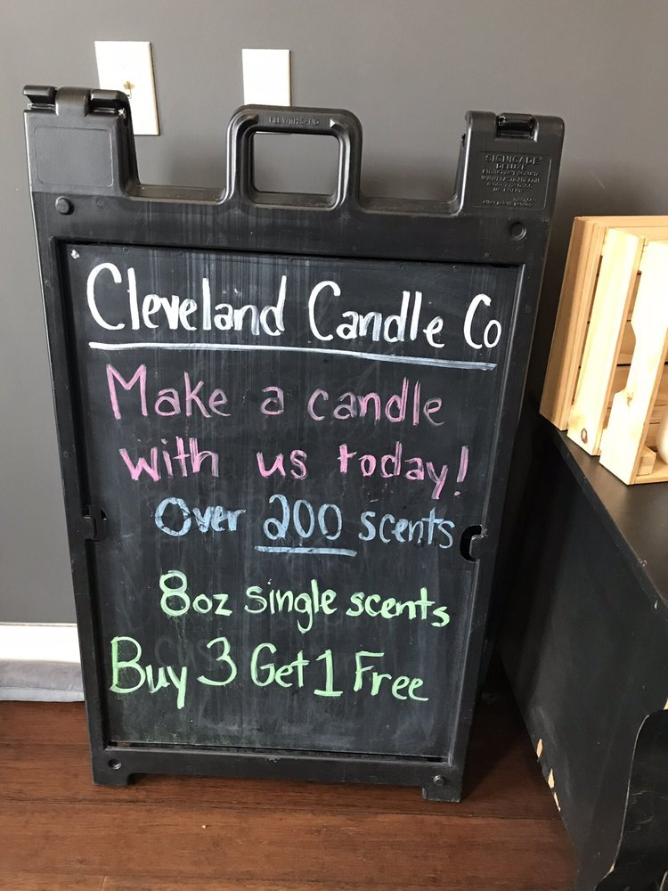 The Cleveland Candle Company: 1810 Coventry Rd, Cleveland Heights, OH