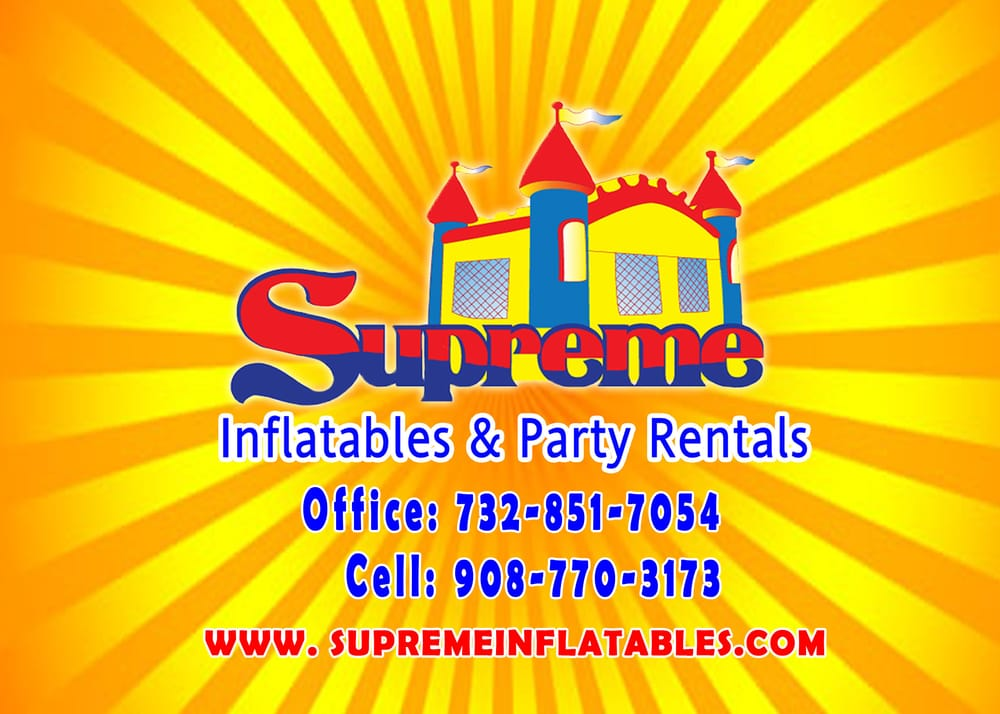 Supreme Inflatables & Party Rentals: 2 Iroquois Dr, Manalapan, NJ