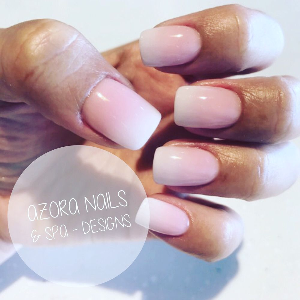Nail Salon Katy: Ombre Nails #acrylicnails #shellacnails #nailslover