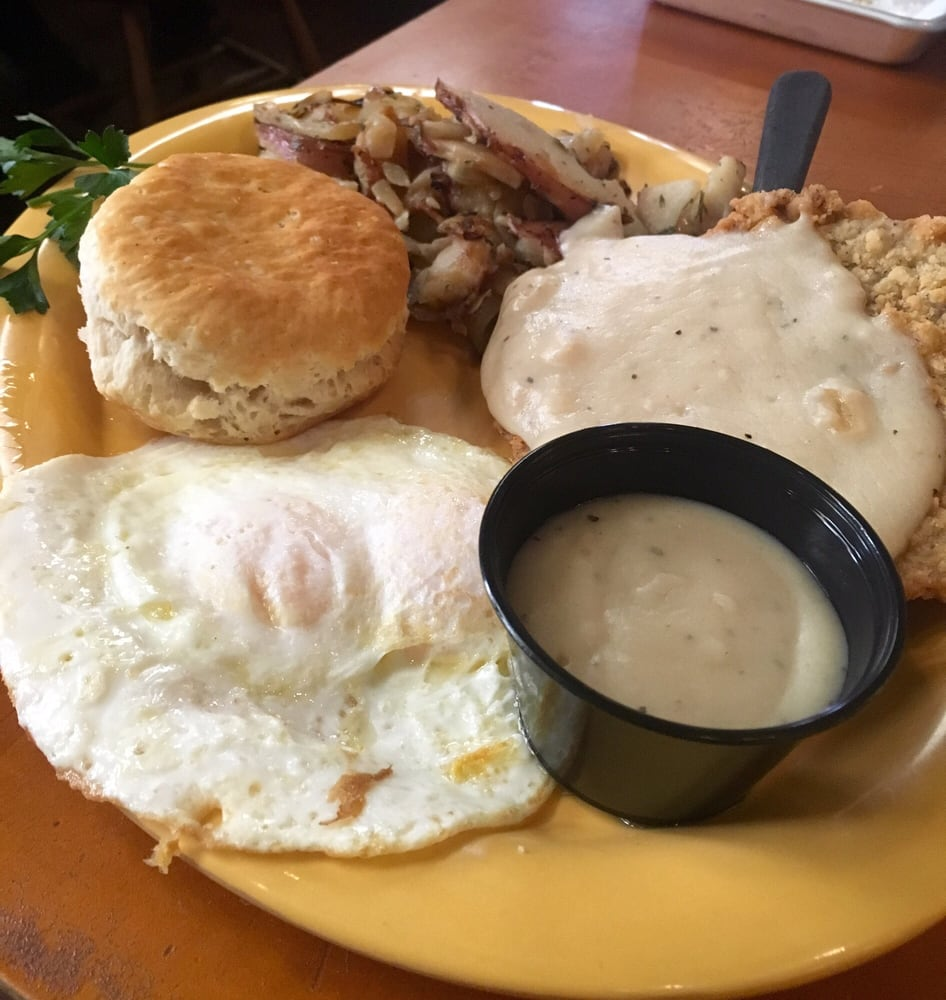 Chicken Fried Steak And Eggs Yelp