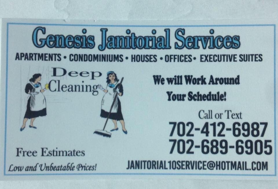 gnesis janitorial services get quote home cleaning las vegas nv phone number yelp