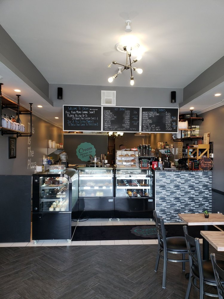 Cream Espresso Bar and Bakery: 2455 Jerusalem Ave, North Bellmore, NY