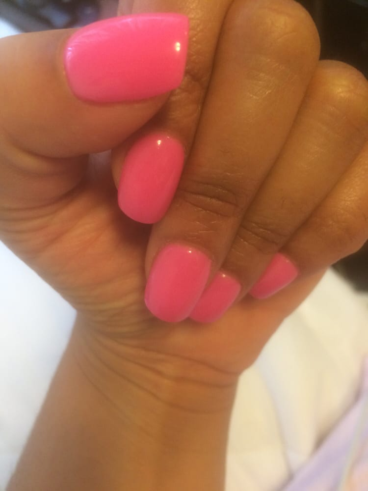 SNS manicure. Excellent work. I\'ve officially converted from the gel ...