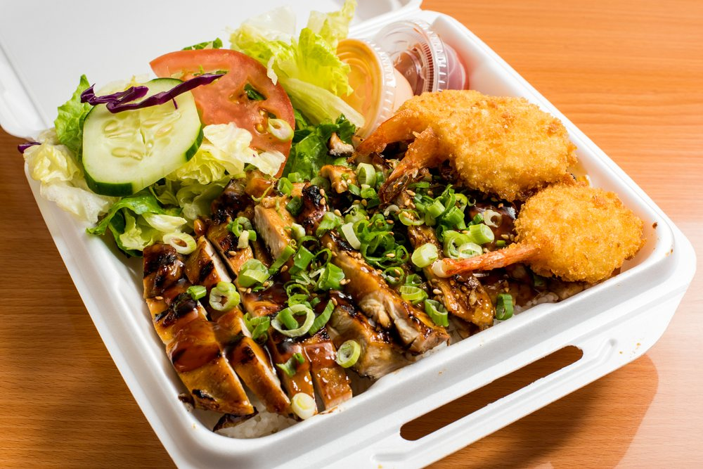 Teriyaki House Grill: 16900 Lakewood Blvd, Bellflower, CA