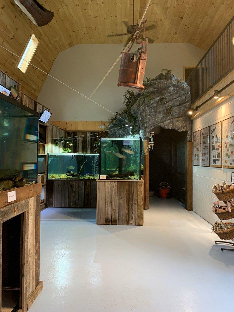 Appalachian Rivers Aquarium: 117 Island St, Bryson City, NC