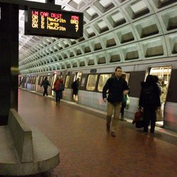 Foggy bottom train station