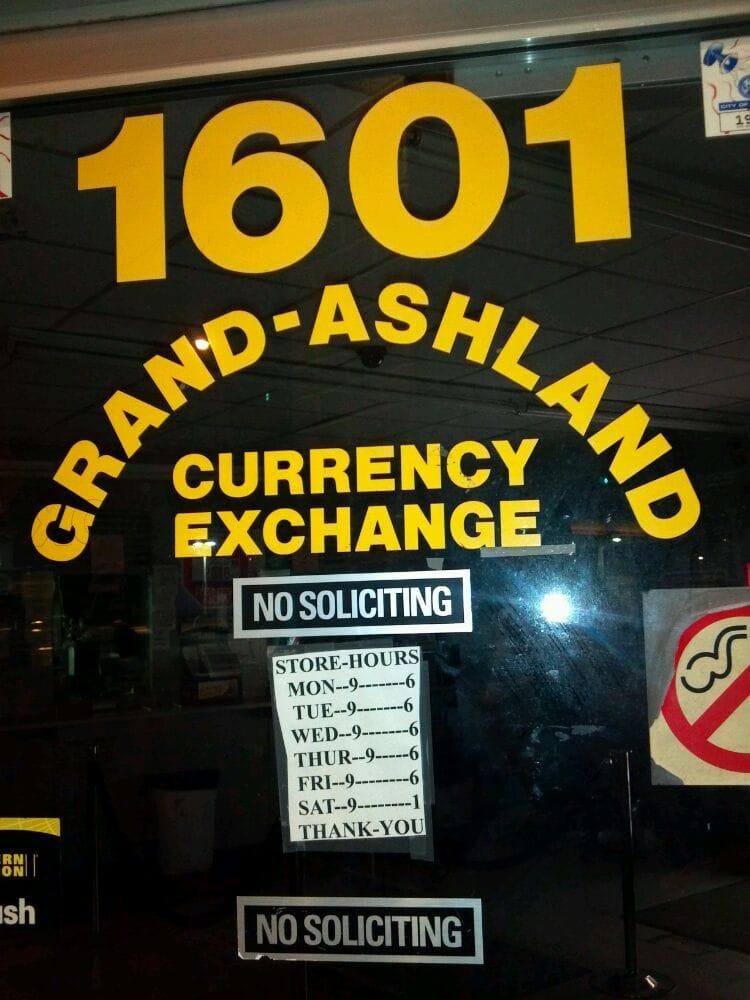 New Grand Ashland Currency Exchange