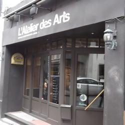 L atelier des arts ferm bistrot rue haute 9 for Atelier cuisine bruxelles
