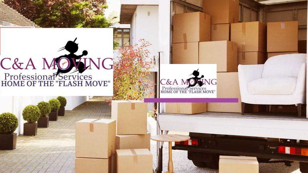 C & A Moving: 1027 W Flora St, Stockton, CA