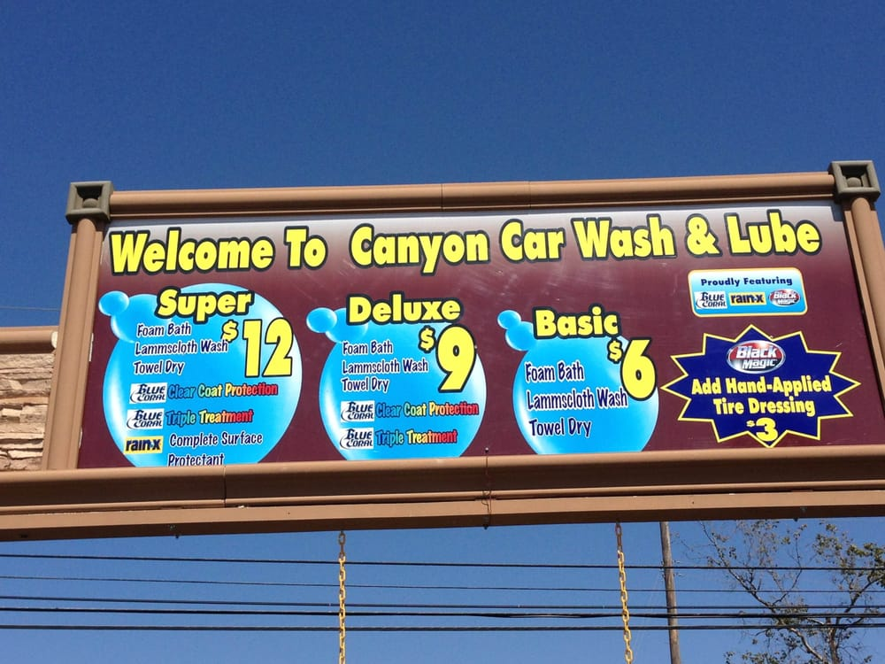 Car Wash Prices: Our Prices!