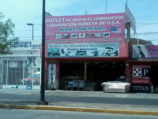 Outlet de Muebles Americanos Seminuevos - Furniture Assembly ...