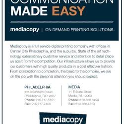 Media copy printing services 1310 sansom st avenue of the arts photo of media copy philadelphia pa united states malvernweather Choice Image