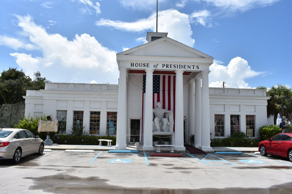 Presidents Hall of Fame: 123 N Hwy 27, Clermont, FL