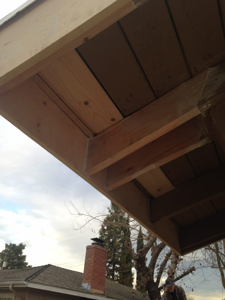Roof Eave Framing Repair Roof Leak Roof Sheathing