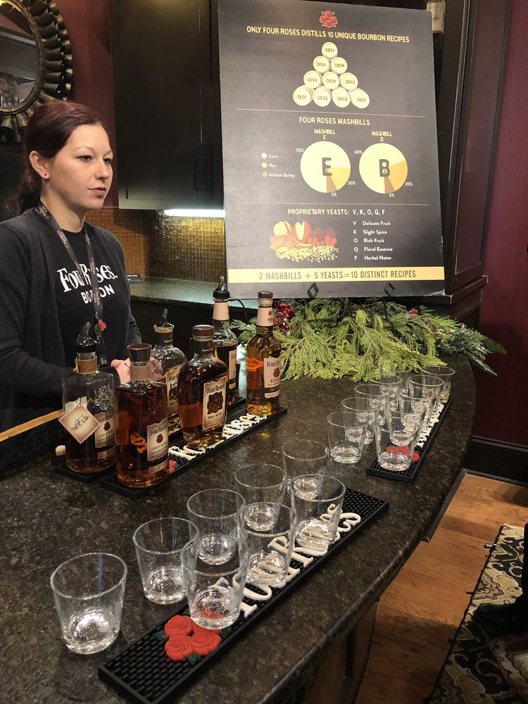 Four Roses Distillery: 1224 Bonds Mill Rd, Lawrenceburg, KY