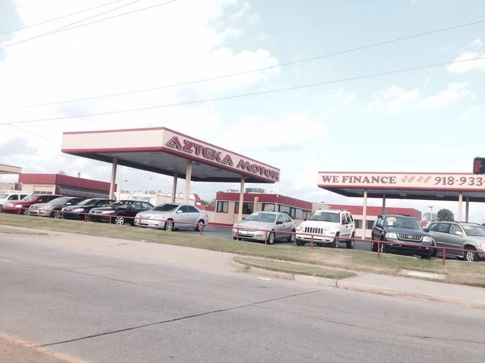 Azteka Motor Car Dealers 7939 E 21st St Tulsa Ok