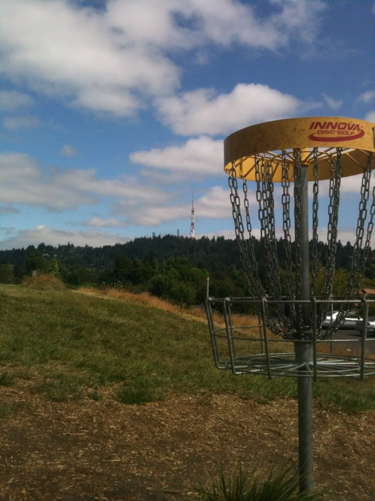 Lunchtime Disc Golf Course