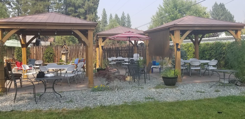 Photo Of The Ranch House   Chester, CA, United States. Adorable Gazebo Patio