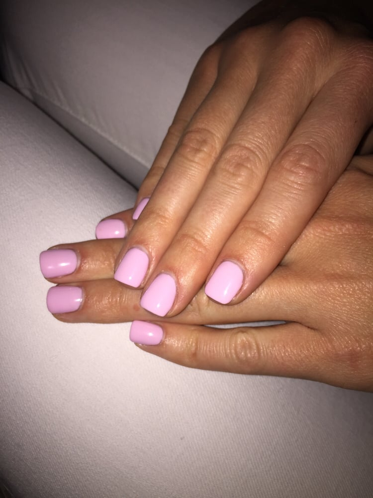 Photo Of Star Nails San Go Ca United States Light Pink Gel
