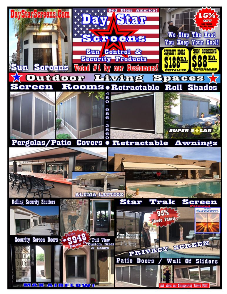 Day Star Screens: 5604 E Main St, Mesa, AZ