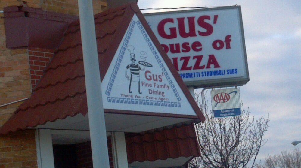 Gus' House Of Pizza: 101 S Hampton St, Kershaw, SC
