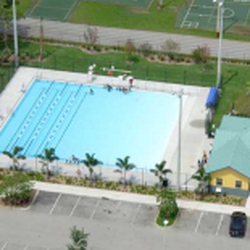 photo of driftwood community pool hollywood fl united states aerial view
