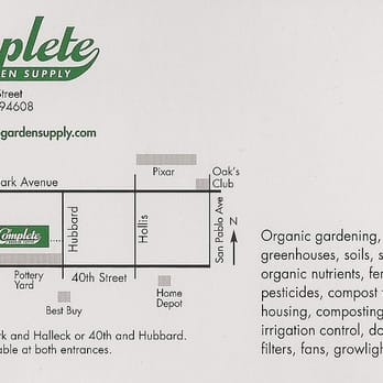 Photo Of Complete Garden Supply U0026 Hydroponics   Emeryville, CA, United  States. All