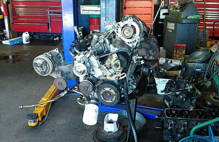 Range Rover motor swap - Yelp