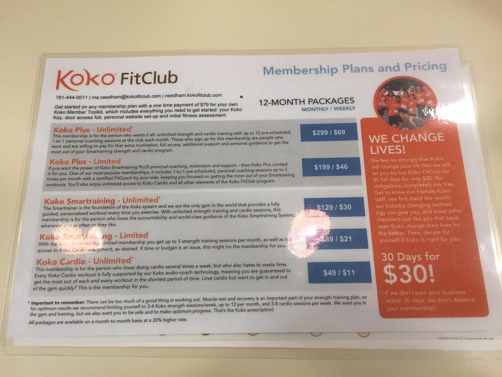 Koko FitClub of Needham - 45 Photos & 16 Reviews - Gyms - 850 Highland ...