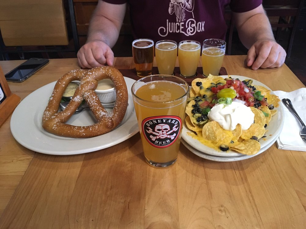 Food from The Bier Stein