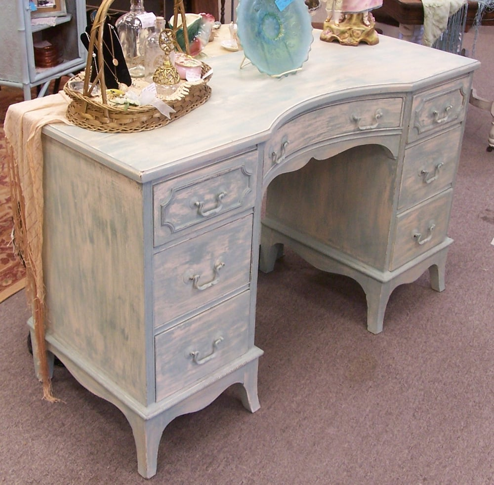 Shabby Desk or could be used as Vanity. On Sale $138.00 - Yelp