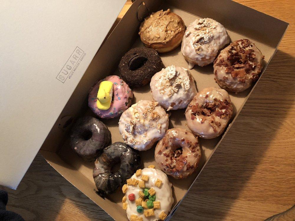 Sugarr Craft Donuts & Coffee: 1752 Eureka Rd, Wyandotte, MI