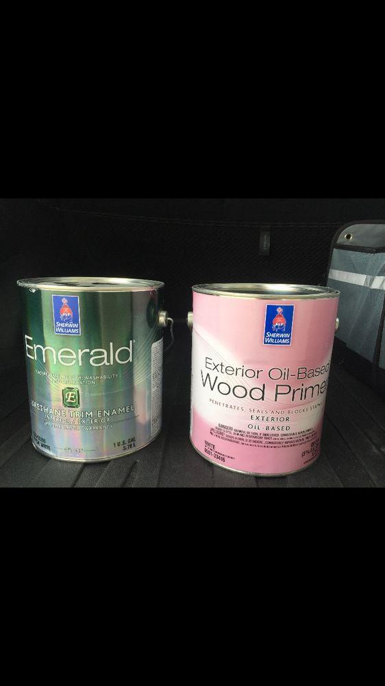 Emerald Urethane Enamel & Exterior Oil Based Wood Primer. - Yelp
