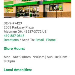 Dollar Tree - Discount Store - 2568 Parkway Plz, Maumee, OH