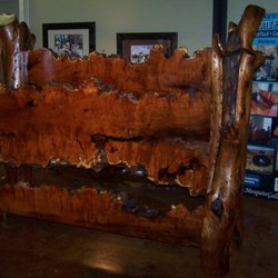 Photo Of Lankfordu0027s Mesquite Furniture   Abilene, TX, United States.  Beautiful Mesquite Bed