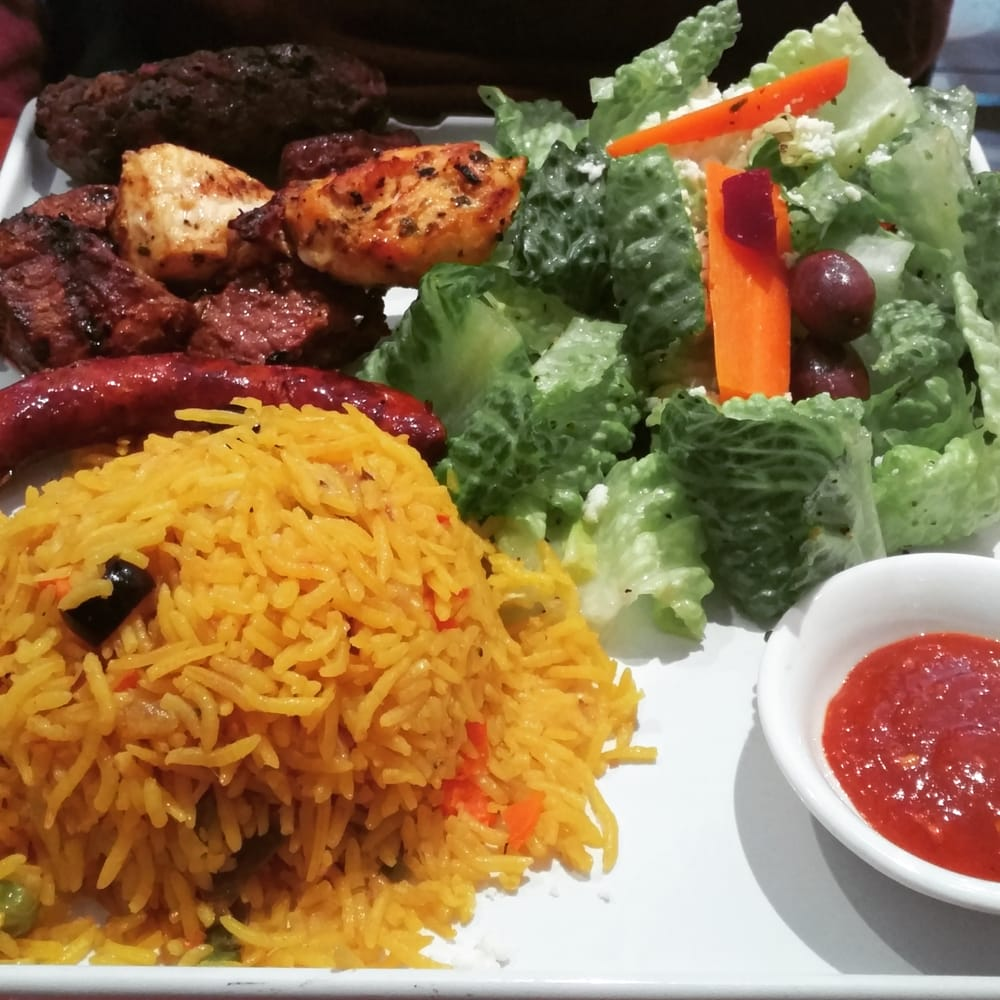 Royal kebob plate yelp for Aicha moroccan cuisine san francisco