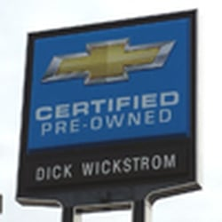 Chevrolet dick service wickstrom