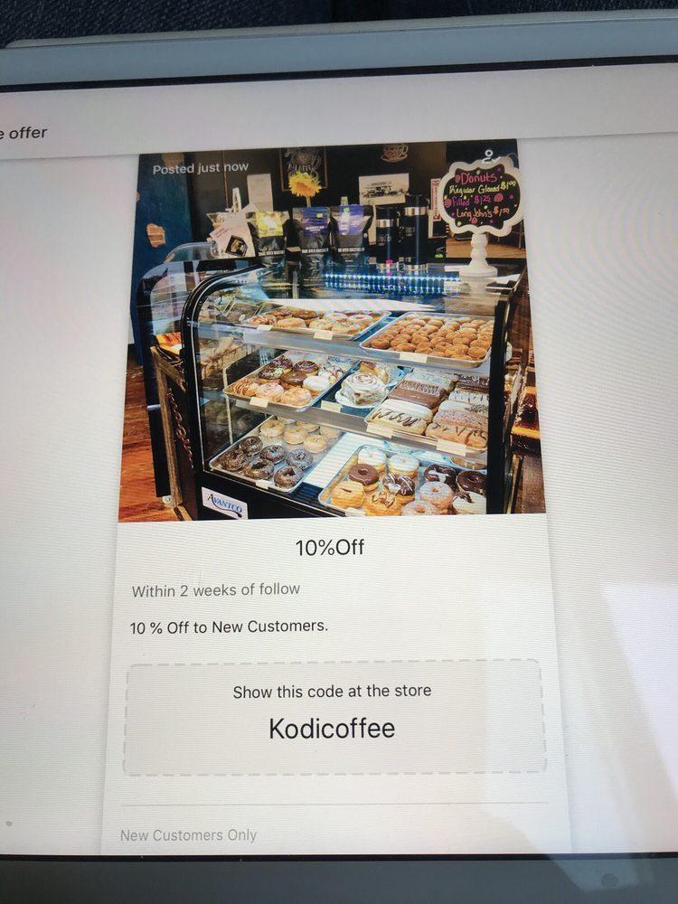 Kodi Rae's Coffee & Bakery: 119 North 3rd, Douglas, WY