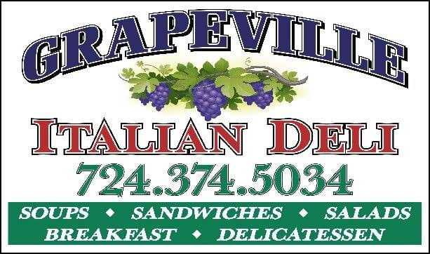 Grapeville Italian Deli: 2601 Brown Ave, Grapeville, PA