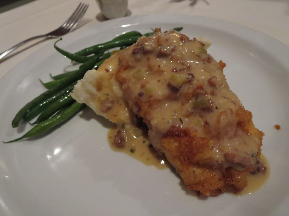 southern fried chicken breast buttermilk mashed potatoes green beans andouille red eye gravy. Black Bedroom Furniture Sets. Home Design Ideas
