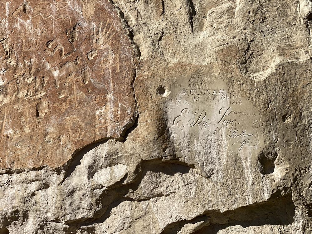 El Morro National Monument: Ramah, NM